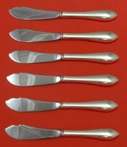 Pointed Antique By R and B D and H Sterling Trout Knife Set HHWS 6pc Custom - $407.55