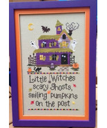 Halloween Goblins cross stitch chart Pickle Barrel Designs - $7.20