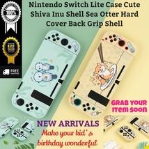 Nintendo Switch Lite Case Cute Shiba Shell Sea Otter Hard Cover Back Gri... - $24.80+