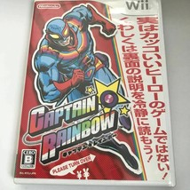 Nintendo Wii CAPTAIN RAINBOW - $15.90