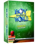 Boy Meets World: The Complete Series Collection (DVD, Seasons 1-7, 22-Di... - $29.59