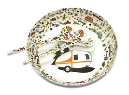 Camp Casual CC-003 Multicolor 3-Piece Bowl and Serving Set - $27.92