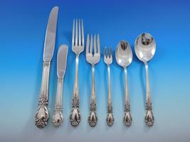 Brocade by International Sterling Silver Flatware Service 12 Set 90 pcs Dinner  - $5,400.00
