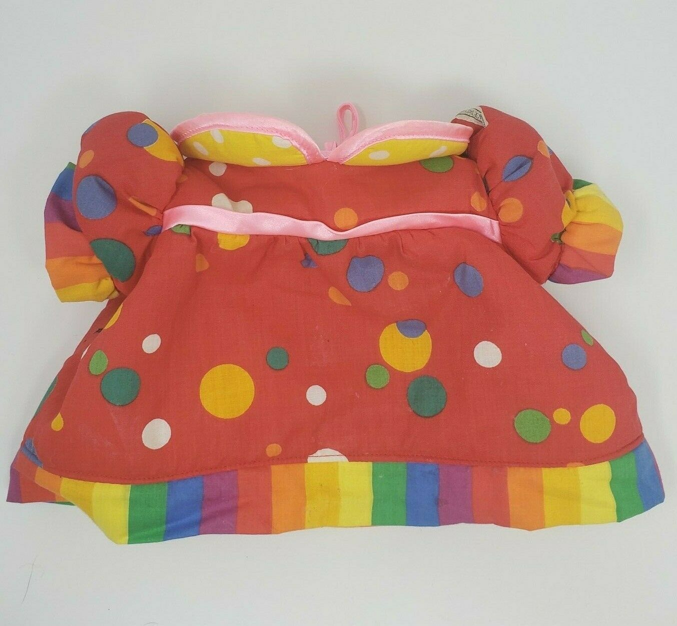 Primary image for VINTAGE CABBAGE PATCH KIDS CLOWN CIRCUS OUTFIT PLUSH RED SHIRT W/ POLKA DOTS