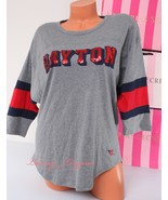 PINK VS Collegiate Collection Dayton Flyers Logo 1/2 Sleeve T-Shirt S Sm... - $42.99