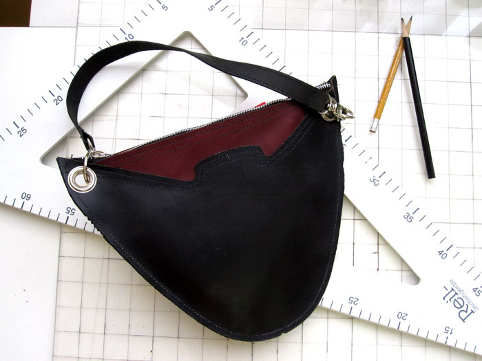 d5dae13796d351 Leather Two-Tone Purse/Clutch Bellatrix and 50 similar items