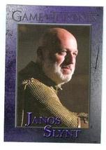 Game of Thrones trading card #72 2013 Janos Slynt - $4.00