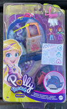 Polly Pocket Micro Freezin' Fun Narwhal Compact, 2 Micro Dolls, Accessor... - $29.99