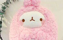 Molang Cosmetic Makeup Pen Strap Pouch Bag Case (Pink) image 3