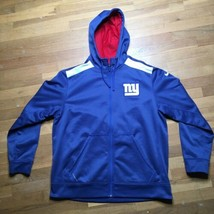 Men's Nike Therma-Fit New York Giants NFL On Field Apparel Zippered Hoodie XL - $60.45
