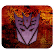 Mouse Pad Transformers Logo Autobot Machine Movie In Hot Video Game Animation - $6.00