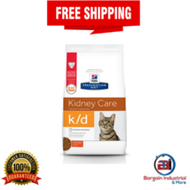 Hill's Prescription Diet k/d Kidney Care with Chicken Dry Cat Food 4LB 8... - $48.79+