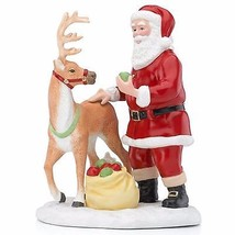 Lenox 2015 Santa's Reindeer Figurine Annual  Apple Treats Christmas NEW IN BOX - $43.02