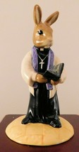 "Royal Doulton Bunnykins Figurine - ""Vicar"" DB254 - W/Box & COA - $33.24"