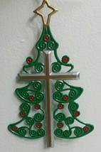New Keep Christ In Christmas》Cross & Christmas Tree Ornament - $6.76