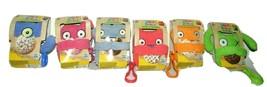 Hasbro Ugly Dolls Plush Figures Lot of 6 Moxy Dog Ox Bat Wage Babo Stuffed Toy - $19.26