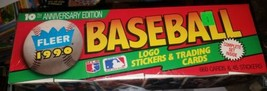 1990 Fleer Baseball Cards [Factory Complete Set] 10th Anniversary Edition  - $24.70
