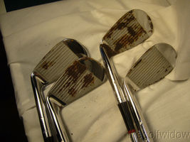 Vintage Tommy Armour Irons 2 - 9 Some are Rechromed with Rust image 6