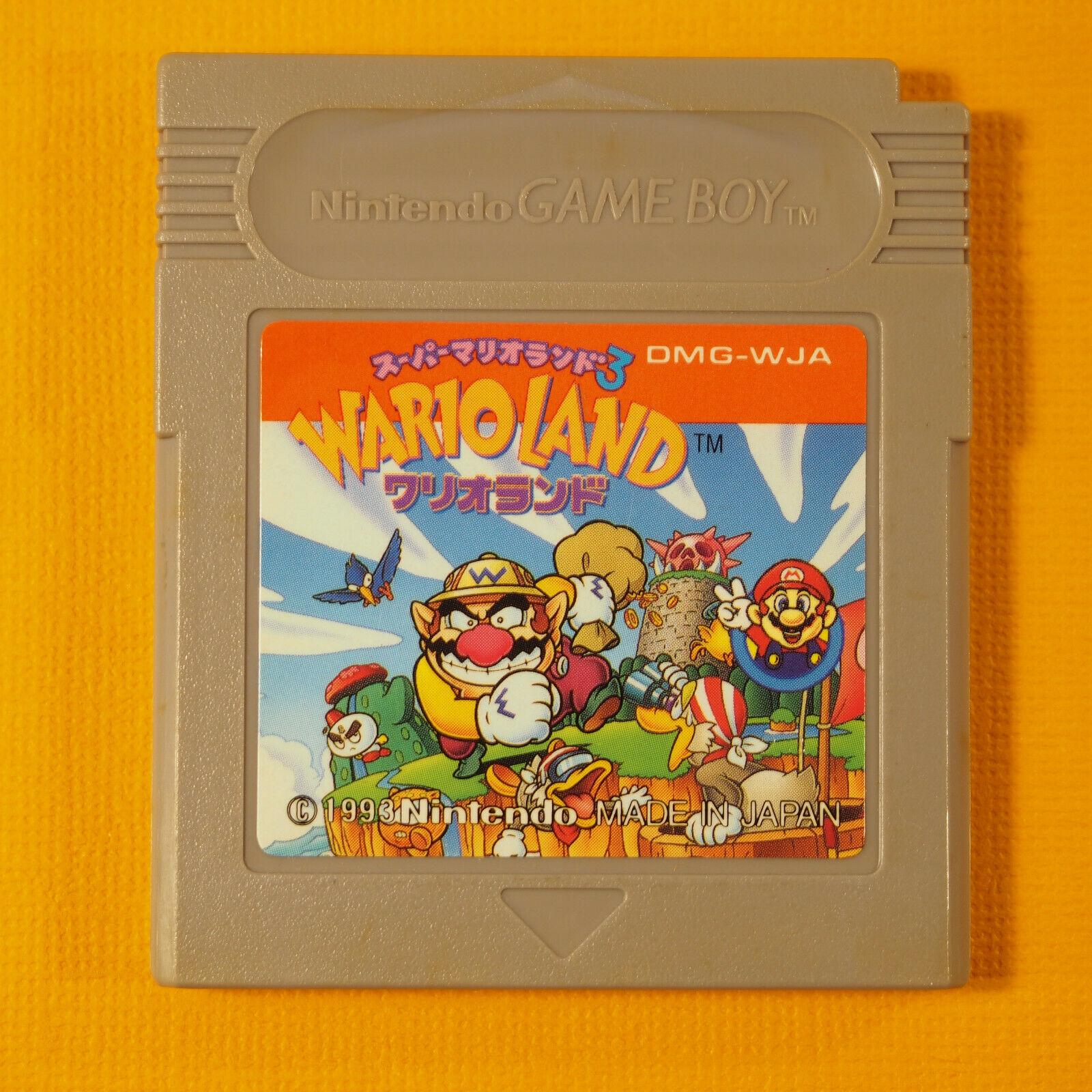Wario Land Warioland (Nintendo Game Boy GB, 1993) Japan Import