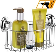 MaxHold Drilling/Suction Cup Deep Corner ShowerStorage Caddy Organizer B... - $26.15