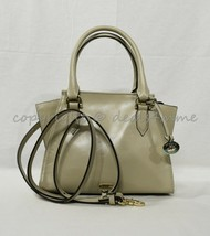 NWT Brahmin Mini Priscilla Smooth Leather Satchel/Shoulder Bag in Sand T... - $249.00