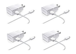 Samsung 2-Amp Adapter Data Cable for Samsung Mobiles, 4 Pack - Non-Retai... - $26.68
