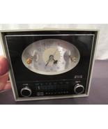 Vintage RCA Victor Clock Radio Model RHD25J Set Design Prop Working Clock - $44.56