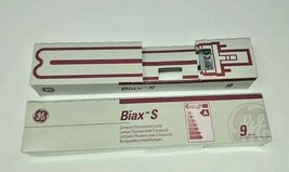 GE Biax S 9 Watt Compact Fluorescent Lamp Bulb Lot of 2 NEW General Electric - $12.82