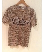ANDREW CASHNER San Diego Padres Camo Jersey Shirt Small SGA EUC - $13.95
