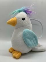 """Gymboree Cockatiel White Bird Rainbow Hair Coin Purse 7"""" Tall - $14.00"""