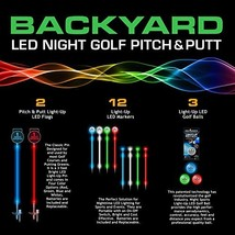 Night Sports Pro Series One Hole LED Night Golf Assortment