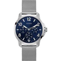 Guess U1040G1 Chronograph Silver tone Mesh Bracelet Watch - £93.12 GBP