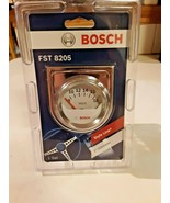 Bosch Style Line Electrical Voltmeter Gauge (White Face) FST8205 - $28.70