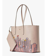 Kate Spade NEW YORK SKYLINE NYC Exclusive Tote + Attached Zip Pouch NWT - $299.99