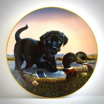 Finders Keepers Danbury Mint 1992 Collectible Plate The Sportsmen Huntin... - $29.65