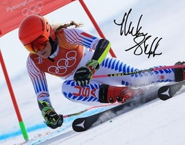 Mikaela Shiffrin Signed Poster Photo 8X10 Rp Autographed 2018 Winter Olympics - $19.99