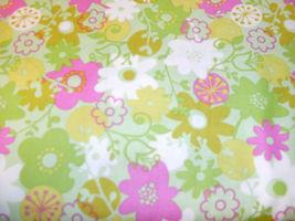 1/2 Yd. Westminster Flower Shower Quilt Fabric Flowers Allover on Light ... - $4.99