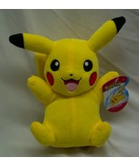 "Nintendo Pokemon VERY SOFT PIKACHU 8"" Plush STUFFED ANIMAL Toy NEW - $19.80"