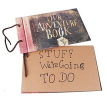 Our Adventure Book Scrapbook Photo Album 11.6x7.5 inches 40 Sheets with 10 - $38.86