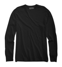NEW MENS CLUB ROOM CREW NECK BLACK WAFFLE THERMAL T SHIRT TEE S - $13.85