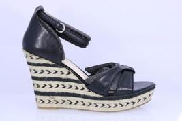 NEW NIB Women's Nine West Jacoby Open Toe Leather Wedge Heel Sandal Size... - €43,48 EUR