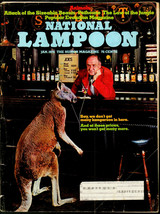National Lampoon #46, Jan 1974 - Animals issue, Popular Evolution parody... - $11.00
