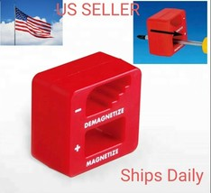 MAGNETIZER DEMAGNETIZER MAGNETIC TOOL FOR SCREWDRIVER TIPS SCREW BITS PI... - $5.89