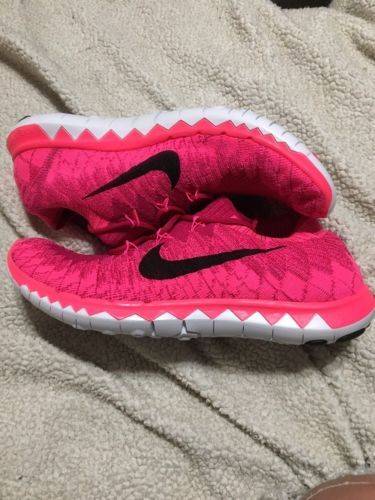 the latest 3ad05 16d5f 12. 12. Nike Free 3.0 Flyknit Fireberry Black Pink Flash (636231 606)  Women s Sz · Nike Free 3.0 ...