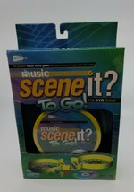 Music Scene It ? To Go!    The DVD Game  2008  Never Played   Travel Game - $14.99