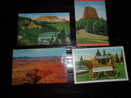 vintage post cards various  American Natural Scenery Lot of  4 - $10.00