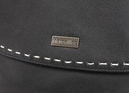 Women's Marcellino Chloe Leather Purse Shoulder Strap Black Crossbody Bag image 4