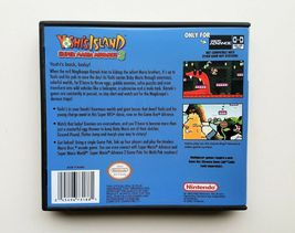 Yoshi's Island Super Mario World Advance 3 - Nintendo Game Boy Advance GBA (USA) image 3