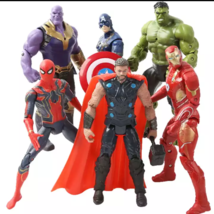 Marvel avenger super hero action figures toy , iron Man, hulk, Thor, cap... - $10.90
