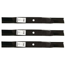 "3 Blades fit Woods 31359KT 65161 Left Hand Blade 60"" Deck RM-59 Mulching... - $39.17"